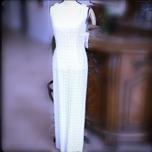 NWT BEADED WITH EXCLUSIVE ORNAMENTATION EVE DRESS